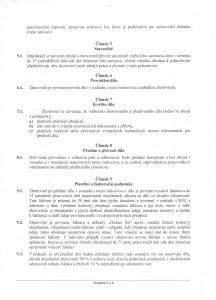 Smlouva o dilo 3